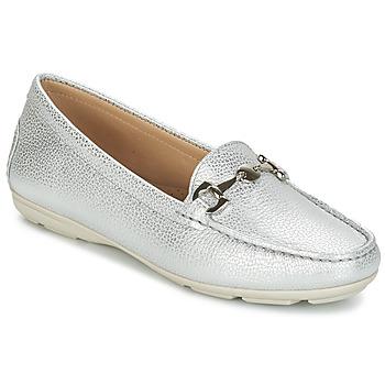 鞋子 女士 皮便鞋 André CABRIOLE 銀灰色