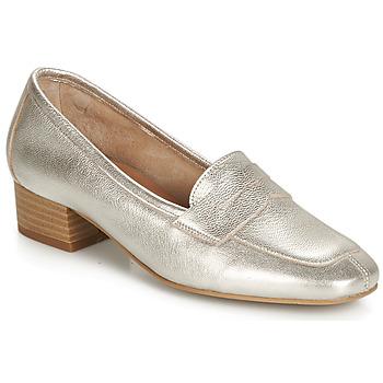 鞋子 女士 皮便鞋 André SENLIS 銀色