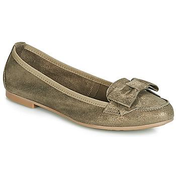 鞋子 女士 平底鞋 André CELIA 卡其色