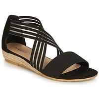 鞋子 女士 凉鞋 André RABAT 黑色