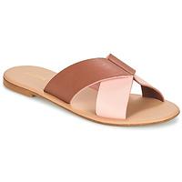 鞋子 女士 休闲凉拖/沙滩鞋 André CRYTELLE 棕色