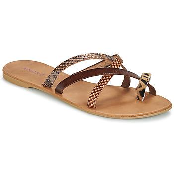 鞋子 女士 休闲凉拖/沙滩鞋 André RYE 棕色