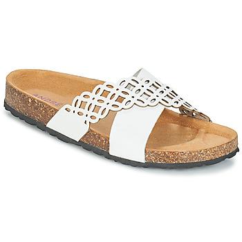 鞋子 女士 休闲凉拖/沙滩鞋 André ROULADE 白色
