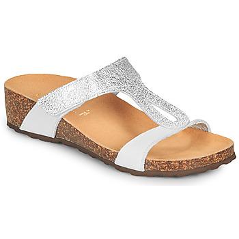 鞋子 女士 凉鞋 André REVERA 银色 / 白色