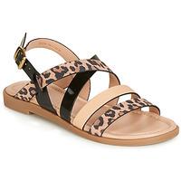 鞋子 女士 凉鞋 André RADJAH Leopard