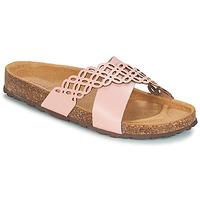 鞋子 女士 休闲凉拖/沙滩鞋 André ROULADE 玫瑰色