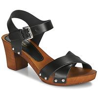 鞋子 女士 凉鞋 André BONGO 黑色