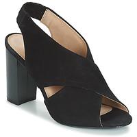 鞋子 女士 涼鞋 André SANTIE 黑色