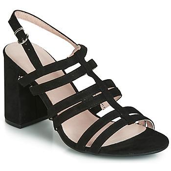 鞋子 女士 凉鞋 André CAPUCINE 黑色