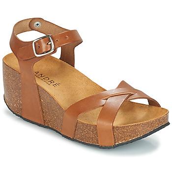 鞋子 女士 凉鞋 André HERA 棕色