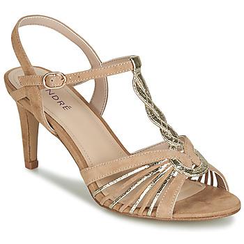 鞋子 女士 凉鞋 André CALECHE 米色