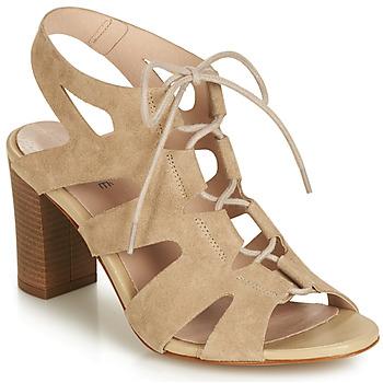 鞋子 女士 凉鞋 André ROMANESQUE 米色
