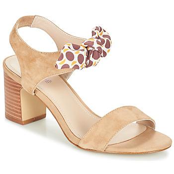 鞋子 女士 涼鞋 André SUPENS 米色