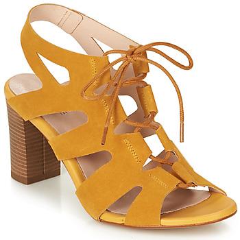 鞋子 女士 凉鞋 André ROMANESQUE 黄色