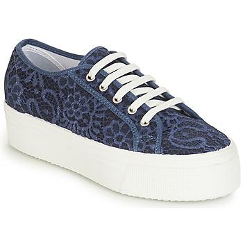 鞋子 女士 球鞋基本款 André SODA 蓝色
