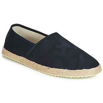 鞋子 男士 帆布便鞋 André JUNGLE 海藍色