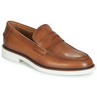 鞋子 男士 皮便鞋 André MILANO 棕色