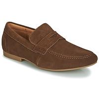 鞋子 男士 皮便鞋 André TONI 棕色