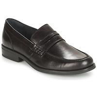 鞋子 男士 皮便鞋 André KOLL 黑色