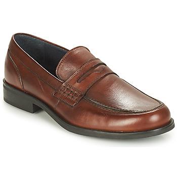 鞋子 男士 皮便鞋 André KOLL 棕色