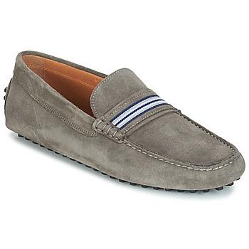 鞋子 男士 皮便鞋 André PITCHOU 灰色