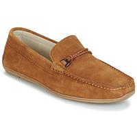 鞋子 男士 皮便鞋 André TRISSOT 驼色