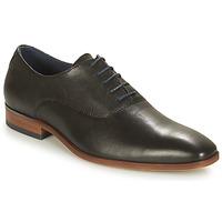 鞋子 男士 系带短筒靴 André PUEBLO 黑色