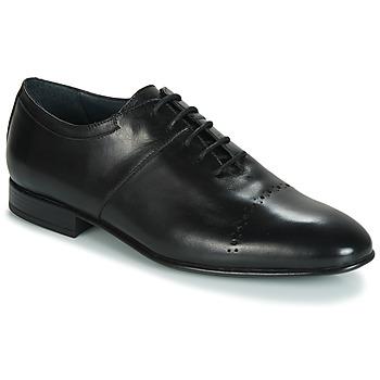 鞋子 男士 系带短筒靴 André REMUS 黑色