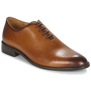 鞋子 男士 系帶短筒靴 André WILLY 棕色