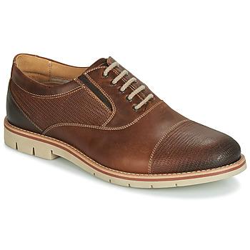 鞋子 男士 系带短筒靴 André SIMPLY 棕色