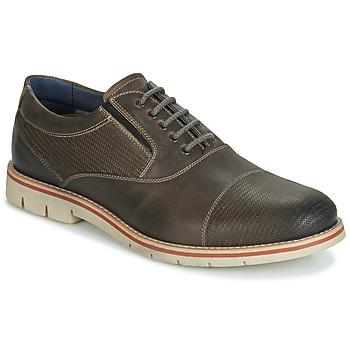 鞋子 男士 系帶短筒靴 André SIMPLY 棕色