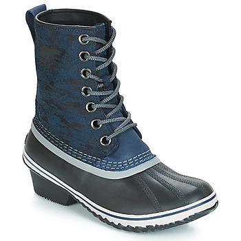 鞋子 女士 雪地靴 Sorel SLIMPACK 1964 蓝色 / 黑色