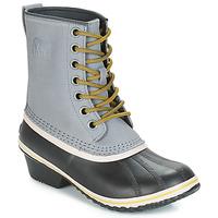 鞋子 女士 雪地靴 Sorel SLIMPACK 1964 灰色 / 黑色