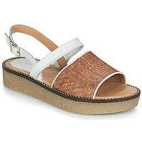鞋子 女士 凉鞋 Kickers VICTORIETTE 棕色 / 白色
