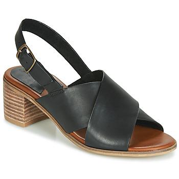 鞋子 女士 凉鞋 Kickers VICTORIANE 黑色