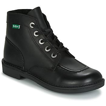 鞋子 女士 短筒靴 Kickers KICK COL 黑色