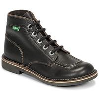 鞋子 女士 短筒靴 Kickers KICK COL 棕色
