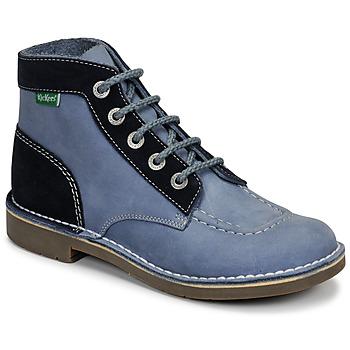 鞋子 女士 短筒靴 Kickers KICK COL 藍色