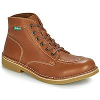 鞋子 男士 短筒靴 Kickers KICKSTONER 驼色