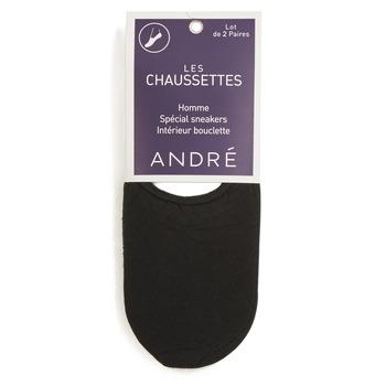 纺织配件 男士 短筒袜 André TERRY 黑色