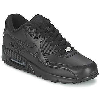 鞋子 男士 球鞋基本款 Nike 耐克 AIR MAX 90 黑色