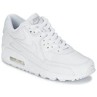 鞋子 男士 球鞋基本款 Nike 耐克 AIR MAX 90 白色