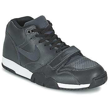 鞋子 男士 球鞋基本款 Nike 耐克 AIR TRAINER 1 MID 黑色