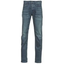 衣服 男士 紧身牛仔裤 Calvin Klein Jeans SLIM STRAIGHT 蓝色 / Fonce