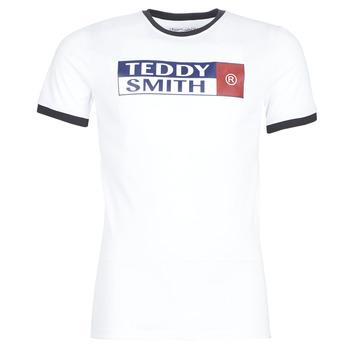衣服 男士 短袖体恤 Teddy Smith 泰迪 史密斯 TOZO 白色