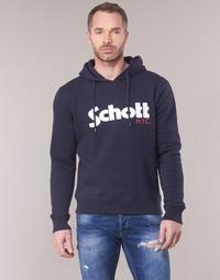 衣服 男士 衛衣 Schott HOOD 海藍色