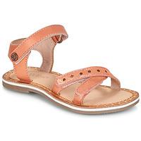 鞋子 女孩 凉鞋 Kickers DIDONC 玫瑰色 / 金属银