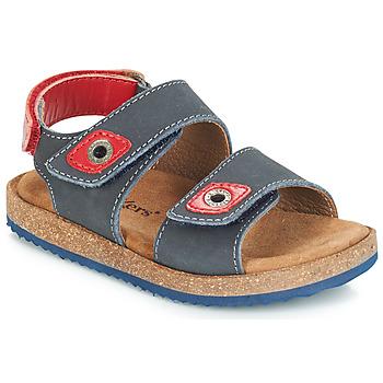 鞋子 男孩 凉鞋 Kickers FIRST 海蓝色