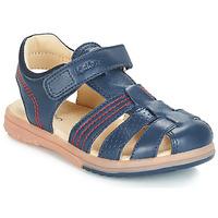 鞋子 男孩 凉鞋 Kickers PLATINIUM 海蓝色