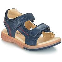 鞋子 男孩 凉鞋 Kickers PLATINO 海蓝色